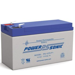 Power-Sonic Loodaccu, 12V/7Ah. PS-1270F1