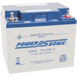Power-Sonic Loodaccu, 12V/38Ah – PS-12380 B . VDS goedgekeurd.