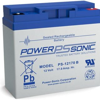 Power Sonic PS 12170 B, 12V 17Ah, loodaccu, € 53,90