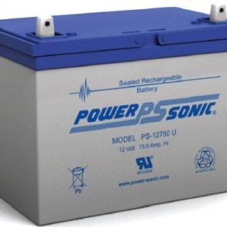 Power-Sonic Loodaccu, 12V/75Ah – PS-12750