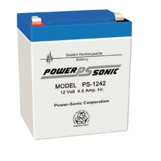 Power-Sonic Loodaccu, 12V/4,5Ah – PS-1242