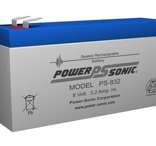 Power-Sonic Loodaccu, 8V/3,2Ah – PS-832