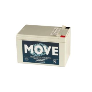 Move Accu'€™s Accu voor scootmobiel, 12V/12Ah – AGM