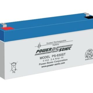 Power-Sonic Loodaccu, 6V/3,4Ah – PS-630