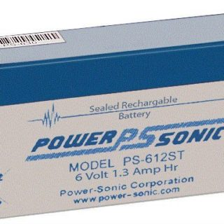 Power-Sonic Loodaccu, 6V/1,3Ah – PS-612ST