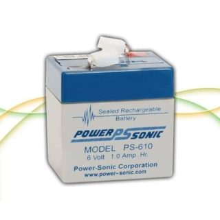 Power-Sonic Loodaccu, 6V/1,0Ah – PS-610