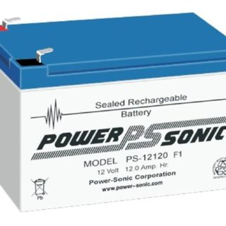Power-Sonic Loodaccu, 12V/12Ah – PS-12120