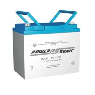 Power-Sonic Loodaccu, 12V/55Ah – PS-12550